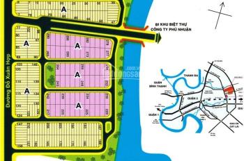 Vietcombank thu hồi vốn phát mãi 5 lô đất mặt tiền đường Đỗ Xuân Hợp, Quận 9. Giá 890tr/80m2. SHR