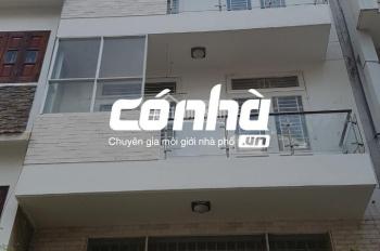 Cho thuê nhà mặt tiền khu Đệ Nhất khách sạn, Phường 4, Tân Bình. DT 6x18m, trệt 3 lầu, Có Nhà
