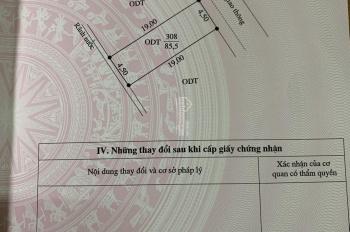 Cần tiền bán gấp ô đất trung tâm thành phố Việt Trì, đi 5 phú ra tới công viên Văn Lang