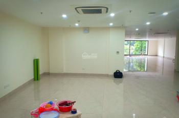 Cho thuê văn phòng tầng 5 tòa nhà 8 tầng tại mặt đường Nguyễn Xiển, 100m2 sử dụng chỉ 25tr/th
