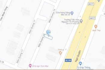Bán lô đất mặt tiền Mân Quang 15, Sơn Trà. DT: 5x16m, gần Ngô Quyền, giá 4,15 tỷ