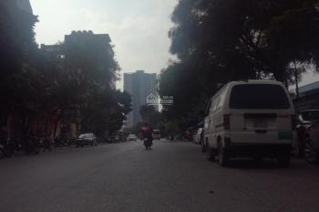 Bán nhà mặt phố Vũ Phạm Hàm, quận Cầu Giấy. DT 142m2 x 5T có thang máy, MT 5,3m vỉa hè rộng 8m