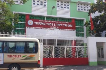Bán nhà 1 trệt 1 lầu mặt tiền kinh doanh, DC 6, Sơn Kỳ, LK trường Trí Đức, DT: 4x19m