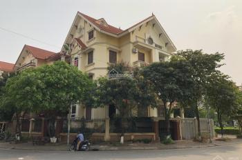 Cho thuê nhà biệt thự KĐT Định Công, Hoàng Mai, DT 180m2, 4 tầng, MT 20m, lô góc. Giá 55tr/th