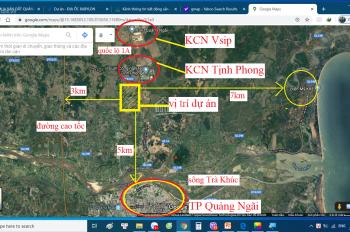 Đất nền và nhà liền kề quốc lộ 1a, Tịnh Phong, Tp Quảng Ngãi- Lh: 0899.15.1869