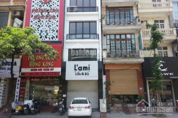 Cho thuê nhà mặt phố Nguyễn Hoàng DT 200m2 x 2T mặt tiền 8m