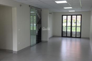 Cho thuê LK Vinhome Hàm Nghi, thông sàn, thang máy, điều hòa DT 115m2 x 5T, MT 6m giá 45tr/th