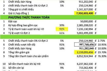 Bán Shop House trung tâm Phú Mỹ Hưng cuối năm nhận nhà giá CĐT CK 10-18% chỉ 49tr/m2, LH 0906360234