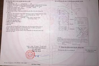 Bán nhà hẻm rộng kinh doanh 6m với 2 MT đường Nguyễn Thiện Thuật, Q3 - Chính chủ đăng bán
