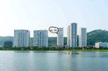 GĐ bán căn chung cư  2 phòng ngủ ban công view trực diện biển tòa A dự án Green Bay Garden HaLong