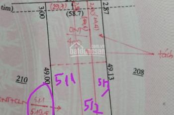 bể nợ bán gấp lô đất 500m2 có 200 thổ cư mặt đường số 32 vành đai becamex