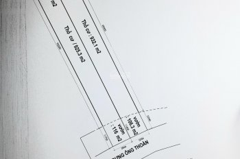Bán 20x110 m2 đất thổ cư mặt tiền đường bưng ông thoàn phú hữu quận 9