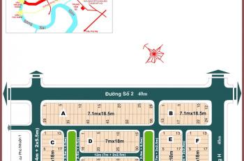 Bán lô C20 dự án Phú Nhuận 2 P.Thạnh Mỹ Lợi Quận 2