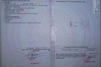 Chính chủ cần bán đường Nguyễn Văn Ngọc, Hòa Xuân, Cẩm Lệ. Đối diện trường Kiến trúc cơ sở 2