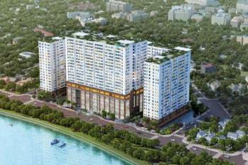 Bán gấp CH 2PN + 1 phòng đa năng 72m2 view mặt tiền sông thoáng mát, cuối năm nhận nhà giá 1tỷ950