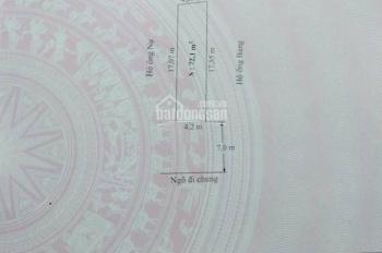 Bán 72m2 tổ 8 thị trấn An Dương Ngõ trước mặt 7m, giá chỉ có 650tr Liên hệ Đt/Zalo 0931.573.789