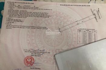 Bán đất mặt tiền Nguyễn Thị Rành, xã Nhuận Đức, Củ Chi, TPHCM. LH: 0986616361