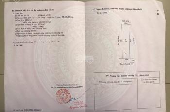 Bán 126m2 đất 3 mặt tiền tại Vân Tra, An Đồng