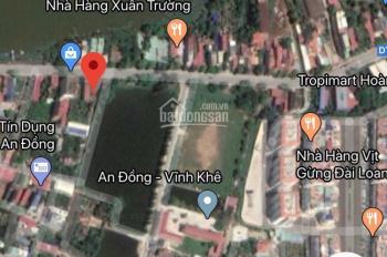 2,7 tỷ sở hữu lô góc 175m2 mặt đường 208, An Dương - 0945231899