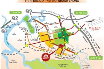 Chủ cần tiền bán gấp lô đất dự án khu đô thị Phước An, 85m2, lô góc, giá 725tr, giá rẻ nhất khu vực