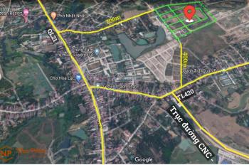 Bán lô đất 300m2, thổ cư 100%, đường 3 ô tránh nhau, vỉa hè 4m tại khu TĐC Linh Sơn, giá 7.5tr/m2