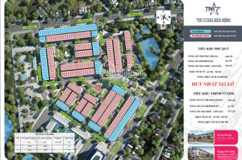 Mở bán đợt 1 đất nền dự án TNR Star Việt Yên giá CĐT 0989163188
