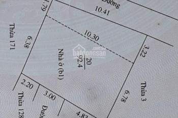 Bán đất ngõ 18A Triệu Quang Phục - TP Hải Dương, giá 830tr, mua 1 nửa 450tr/lô