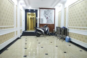 Bán nhà mặt ngõ phân lô 158 Tân Mai, Hoàng Mai 45m2x8 tầng mới, thang máy, ô tô vào, giá 7,85 tỷ