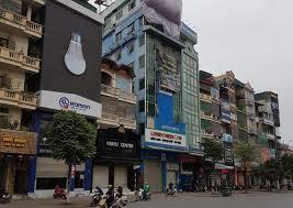 Bán nhà phố Văn Cao Diện tích 259m2, xây 4 tầng, mặt tiền 7.5m, giá 61 tỷ Ba Đình 0901751599