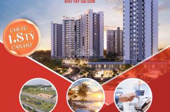Căn hộ cao cấp West Gate - An Gia, giá Chỉ 1.8 tỷ TT 30% nhận nhà, LH: 0909766697