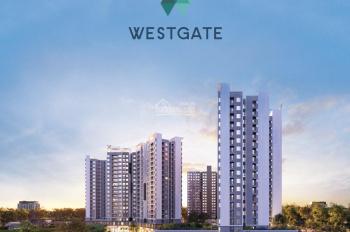 Căn hộ West Gate Bình Chánh 2PN - 1.9 tỷ, full nội thất, thanh toán 30% nhận nhà LH: 0909766697