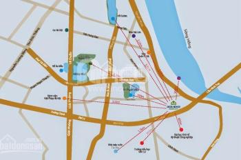 Bán nhanh căn ngoại giao Hòa Bình Green Đà Nẵng view trực diện biển. Lợi nhuận 18 tr/tháng, sổ đỏ