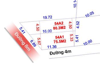 Chỉ còn 1 lô đất đẹp, giá 870 triệu, đường 8m, KP8, Phường Hố Nai, Biên Hòa