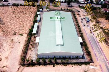Cho thuê nhà xưởng 10.000m2 góc 2 mặt tiền đường Đồng Khởi, ngay KCN Thạch Phú, Vĩnh Cửu