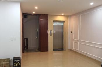Cho thuê nguyên căn tòa nhà VP mặt phố Yên Lãng, Đống Đa. DT 130m2 x 8 nổi + 1 hầm, giá 160tr/th