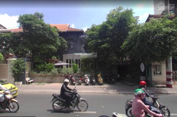 Nhà mặt tiền Điện Biên Phủ, phường 7, quận 3. DT: 14 x 23 KC: trệt 2 lầu. Kiểu biệt thự.
