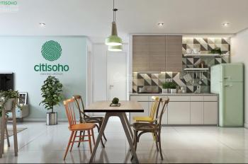 Cần tiền bán gấp ch Citi Soho, 56m2 (2pn - 1wc), có nội thất đẹp, nhà mới, giá rẻ nhất thị trường