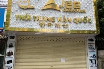 Cho thuê nhà mặt phố Vũ Phạm Hàm, DT 150m2, XD 100m2 x 5 tầng, MT 6m. Tiện kinh doanh, 60tr/th