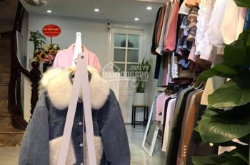 Nhà 2PN phố Trần Khát Chân, ở + bán hàng, giá 9 tr/th