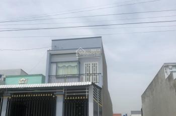Bán nhà 1 trệt 1 lầu y hình, đang cho thuê 8tr/th, DT 125m2, đường nhựa 12m, công chứng ngay