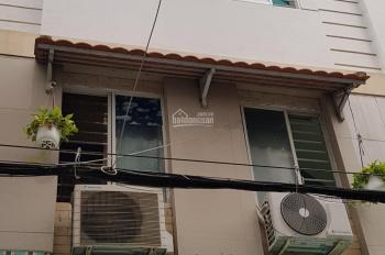 Hình thật! Chính chủ bán gấp nhà hẻm 5m gần mặt tiền số 23/ Nơ Trang Long, P. 7, DT 6,65x7m, 3 tầng