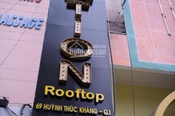 Cần sang lại cổ phần quán bar rooftop và khách sạn quận 1