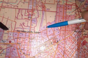 Bán đất mẫu đã có thổ cư tại thị trấn Chơn Thành thích hợp để phân lô hoặc làm dự án