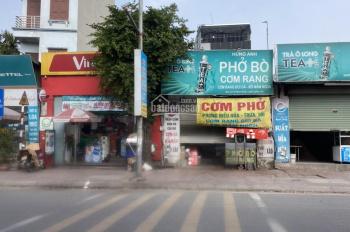 Bán đất mặt phố kinh doanh, tặng nhà cấp 4 đang làm nhà hàng tại Thạch Bàn- Long Biên-HN