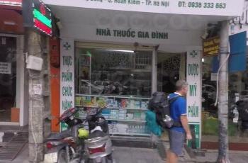 Chính chủ cho thuê nhà mặt phố Hàng Bông, Hoàn Kiếm, Hà Nội. Phố trung tâm, gần bờ hồ