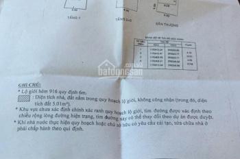 Cần bán căn nhà hẻm xe hơi đường Lạc Long Quân P8, Tân Bình, DT 4.1x11m nở hậu 4.9m, 4 tầng, 5.2 tỷ