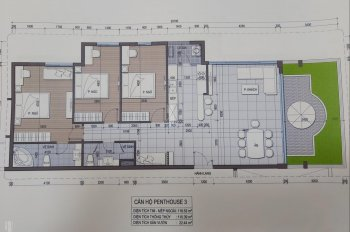 Bán căn penthouse 140m2 dự án Conic Riverside quận 8, ký HĐ trực tiếp CĐT LH: 0911678909
