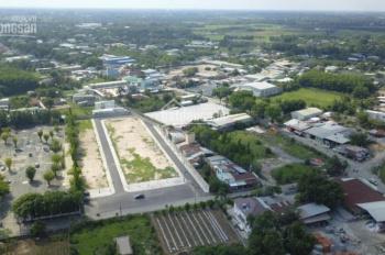 Đất mặt tiền Hồ Văn Tắng, Tân Phú Trung, Củ Chi, 160m2, giá 1,8 tỷ, thổ cư, sổ riêng, 0902345203