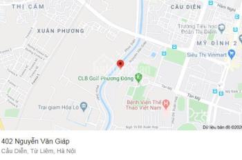 Cho thuê nhà số 402 - 404 Nguyễn Văn Giáp (đường K2), Cầu Diễn, Q. Nam Từ Liêm, Hà Nội