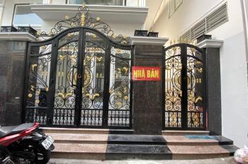 Bán nhà 1 trệt 2 lầu 1 sân thượng - DT: 4x16m, giá 6.9 tỷ - mặt tiền đường Hưng Phú, P. 9, quận 8